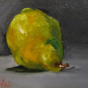 Art: Pear No. 8 by Artist Delilah Smith