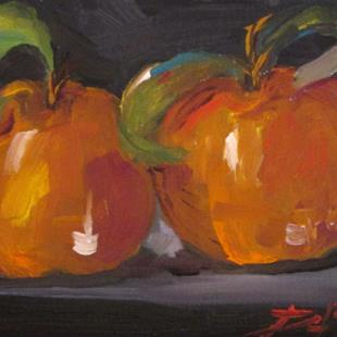 Art: Oranges by Artist Delilah Smith