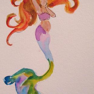 Art: Mermaid No. 14 by Artist Delilah Smith