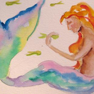 Art: Mermaid No. 16 by Artist Delilah Smith