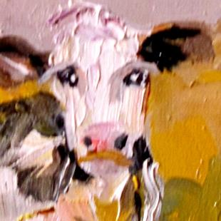 Art: Cow No. 13 by Artist Delilah Smith
