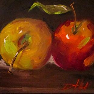 Art: Apples No. 25 by Artist Delilah Smith