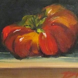 Art: Heirloom Tomato No. 4 by Artist Delilah Smith
