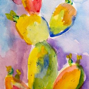 Art: Prickly Pear No. 4 by Artist Delilah Smith