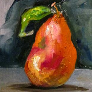 Art: Pear No. 9 by Artist Delilah Smith