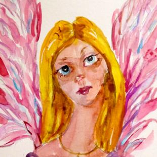 Art: Angel No. 29 by Artist Delilah Smith