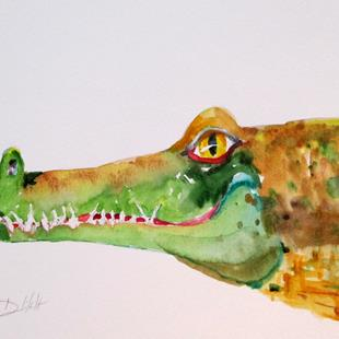 Art: Alligator No. 3 by Artist Delilah Smith