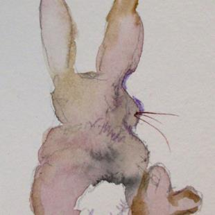 Art: Bunny Rabbit by Artist Delilah Smith