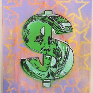 Art: 100 money pt 2 by Artist Paul Lake, Lucky Studios