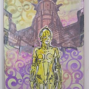 Art: Metropolis by Artist Paul Lake, Lucky Studios