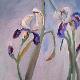 Art: Iris No.11-sold by Artist Delilah Smith