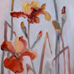 Art: Iris No. 12-sold by Artist Delilah Smith