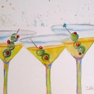 Art: Martini No. 2 by Artist Delilah Smith