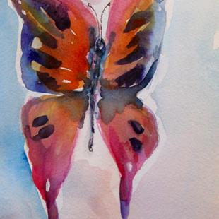 Art: Butterfly No. 7 by Artist Delilah Smith