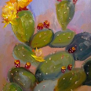 Art: Prickly Pear by Artist Delilah Smith
