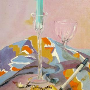 Art: Still Life by Artist Delilah Smith