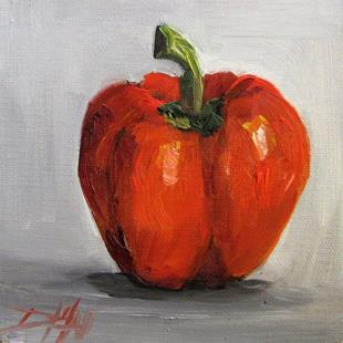 Art: Red Pepper No. 2 by Artist Delilah Smith