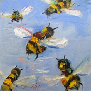 Art: Bees Knees No. 10 by Artist Delilah Smith