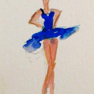 Art: Long Legged Dancer by Artist Delilah Smith