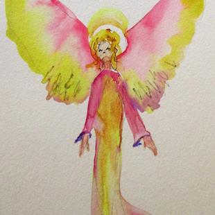 Art: Angel No. 36 by Artist Delilah Smith