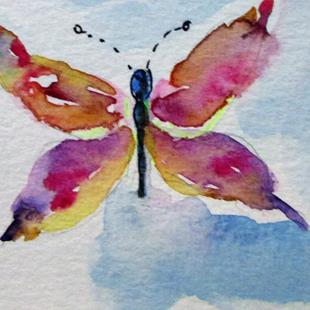 Art: Butterfly No. 9 by Artist Delilah Smith