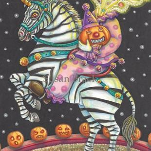 Art: SLEEPY HOLLOW CIRCUS by Artist Susan Brack