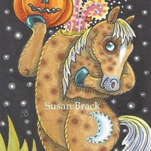 Art: SLEEPY HOLLOW PONY by Artist Susan Brack