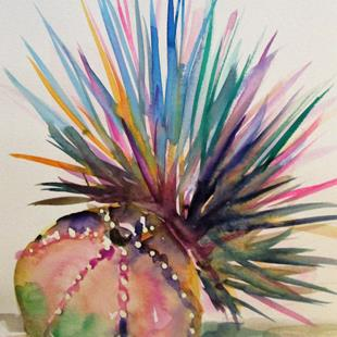 Art: Sea Urchin No. 2 by Artist Delilah Smith