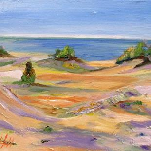 Art: Sleeping Bear Dunes No. 3 by Artist Delilah Smith