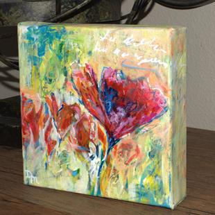 Art: Cherish the Moment - Spring in Your Step series - Sold by Artist Dana Marie
