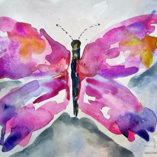 Art: Butterfly No. 11 by Artist Delilah Smith