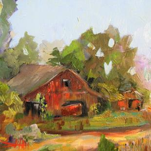 Art: Old Barn No. 2 by Artist Delilah Smith