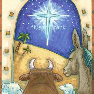 Art: SILENT NIGHT by Artist Susan Brack