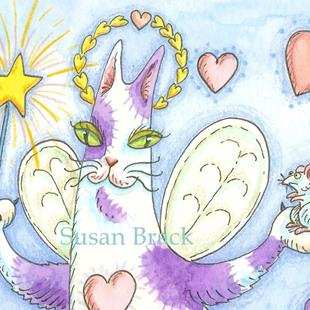 Art: HISS N FITZ - LOVE FAIRIES cropped by Artist Susan Brack