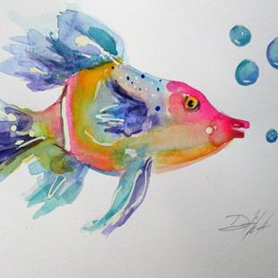 Art: Angel Fish by Artist Delilah Smith