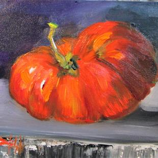 Art: Heirloom Tomato No. 5 by Artist Delilah Smith