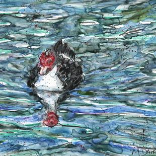 Art: Muscovy Waters by Artist Melinda Dalke