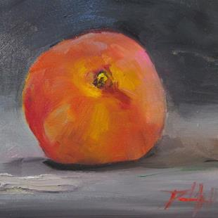 Art: Peach No. 4 by Artist Delilah Smith