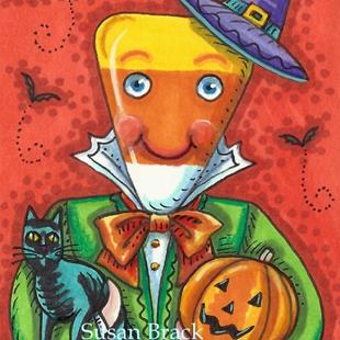 Art: ANDY IS A HALLOWEEN CANDY by Artist Susan Brack