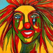 Art: Clown by Ulrike 'Ricky' Martin