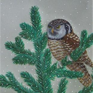 Art: Winter Ullet by Artist Jackie K. Hixon