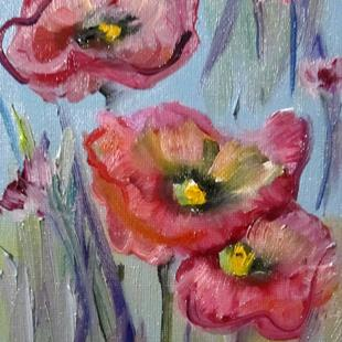 Art: Poppies No. 14 by Artist Delilah Smith