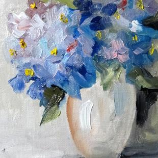 Art: Hydrangea No. 2-sold by Artist Delilah Smith
