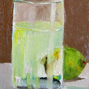 Art: Lime and Glass by Artist Delilah Smith