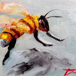 Art: Bee No. 11 by Artist Delilah Smith