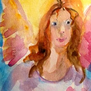 Art: Angel No. 41 by Artist Delilah Smith