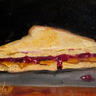 Art: Peanut Butter and Jelly by Artist Delilah Smith