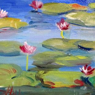 Art: Lilies No. 3 by Artist Delilah Smith
