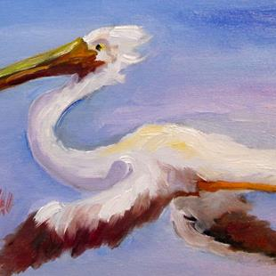 Art: Pelican No. 10 by Artist Delilah Smith