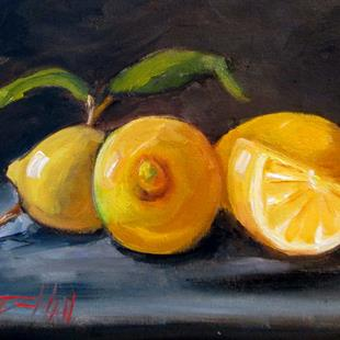 Art: Sour Lemons by Artist Delilah Smith